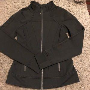 Ivivva by Lululemon black zip up hoodie